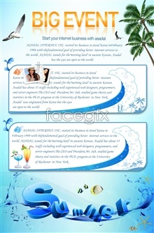 Link toEnglish poster psd free