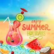 Link toEnjoy tropical summer holidays backgrounds vector 02 free