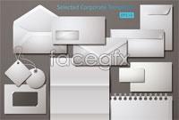 Link toEnterprise vi design blank template vector