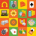 Link toEntertainment gambling icon vector