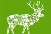 Link toEnvironmental protection sika deer of the tile image vector
