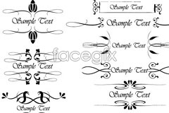 Link toEps format variety of vector pattern and lace