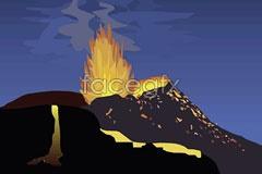 Link tovector images Eruption