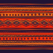 Link toEthnic style tribal patterns graphics vector 03 free