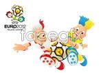Link toEuro mascot vector