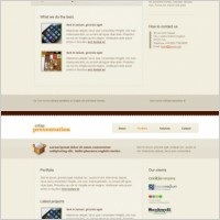 Link toEurope and the united states of tea web design templates psd