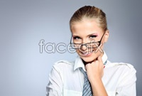 Link toEuropean and american beauty with glasses high definition pictures
