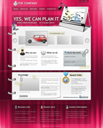 Link toEuropean and american corporate web site templates