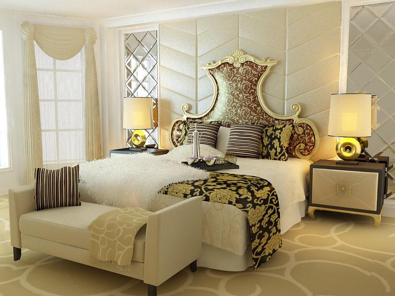 Link toEuropean aristocracy bed 3d model (including materials)