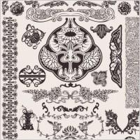 Link toEuropean background pattern 05 vector