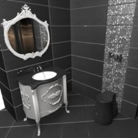 Link toEuropean bathroom 3d model