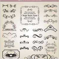 Link toEuropean classic lace pattern 01 vector