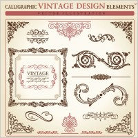 Link toEuropean classic lace pattern 03 vector