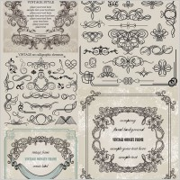 Link toEuropean classic lace pattern vector