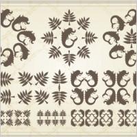 Link toEuropean classic pattern 02 vector