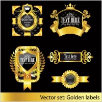 Link toEuropean classic pattern label 02 vector