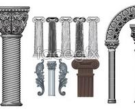 Link toEuropean classical column vector of pattern