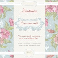 Link toEuropean classical vector flowers cover 1