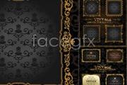 Link toEuropean golden frame vector