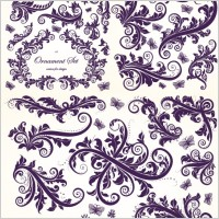 Link toEuropean gorgeous beautiful pattern vector