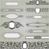 Link toEuropean gorgeous classic decorative pattern vector 1
