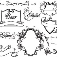 Link toEuropean gorgeous classic lace pattern vector 1