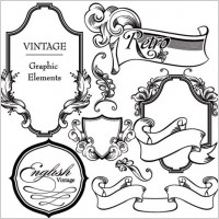 Link toEuropean gorgeous classic lace pattern vector 3