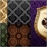 Link toEuropean gorgeous classical pattern vector background