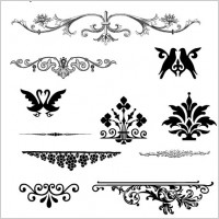 Link toEuropean gorgeous pattern element vector