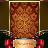Link toEuropean gorgeous pattern frame 01 vector