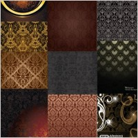 Link toEuropean gorgeous variety of shading pattern vector