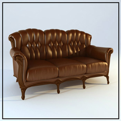 Link toEuropean leather seater sofas 3d models