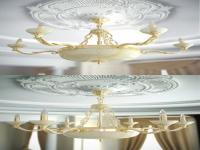 Link toEuropean living room chandelier 3d model
