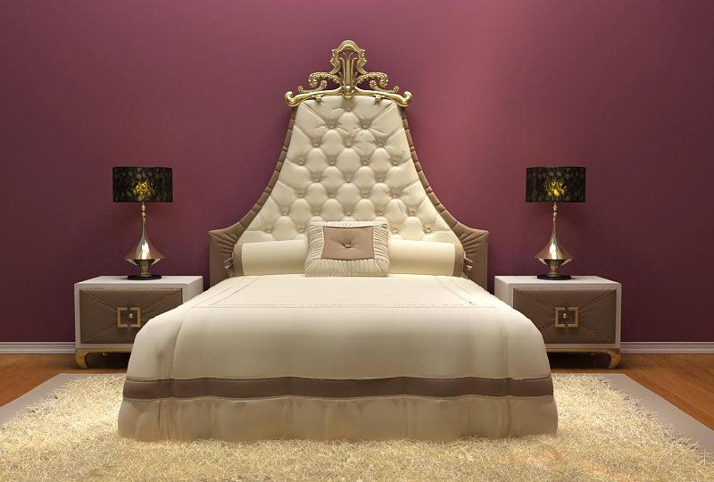 Link toEuropean luxury-bed 3d model (including materials)