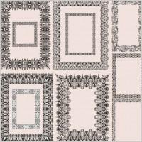 Link toEuropean pattern frame 01 vector
