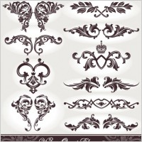Link toEuropean pattern patterns 05 vector