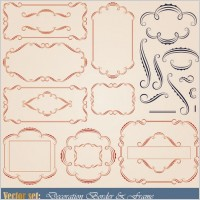 Link toEuropean patterns graphics 02 vector