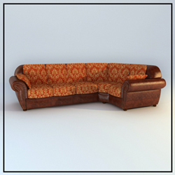 Link toEuropean people coriaceous sofa 3d models