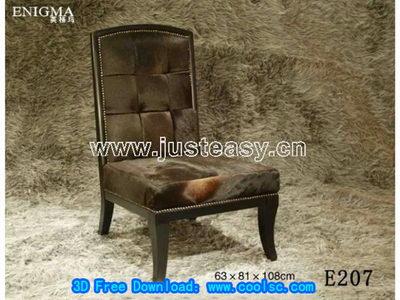 Link toEuropean plush chair 3d model