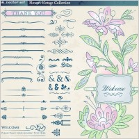Link toEuropean retro floral lace pattern vector 2