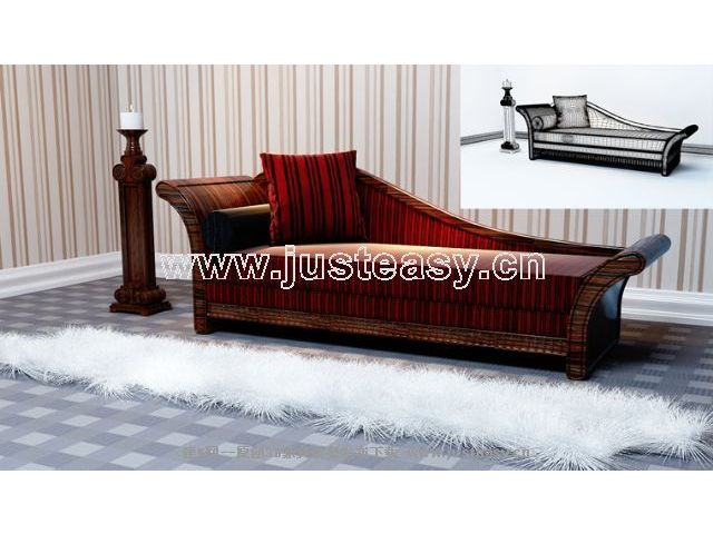 Link toEuropean retro sofa 3d model
