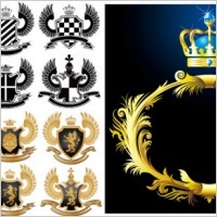 Link toEuropean royal pattern vector