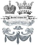 Link toEuropean royalty element vector