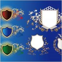 Link toEuropean shield pattern vector