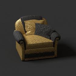 Link toEuropean single luxury soft sofa 3d models
