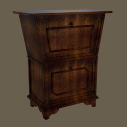 Link toEuropean solid wood cabinet two layers of restoring ancient ways 3d models