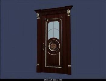 Link toEuropean-style boutique doors 3d model