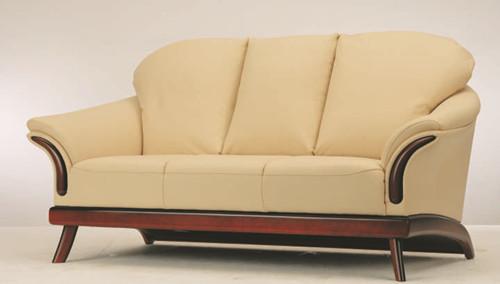 Link toEuropean-style cushion three seats sofa 3d model