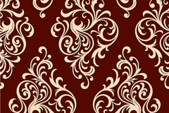 Link toEuropean-style decorative pattern design vector