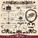 Link toEuropean-style lace pattern 01 vector